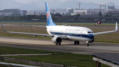 A picture of B5469 - Boeing 73781B - China Southern Airlines - © XPHNGB