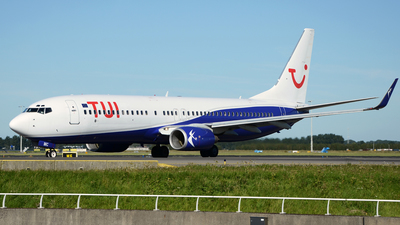 YR-BMC - Boeing 737-85F - TUI (Blue Air)