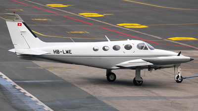 A picture of HBLWE - Cessna 340A - [340A1245] - © Christian Weber