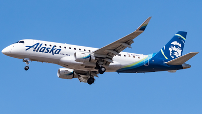 A picture of N633QX - Embraer E175LR - Alaska Airlines - © Ricky Teteris