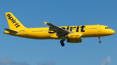 A picture of N698NK - Airbus A320232 - Spirit Airlines - © Hector Rivera - Puerto Rico Spotter