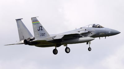 82-0017 - McDonnell Douglas F-15C Eagle - United States - US Air Force (USAF)