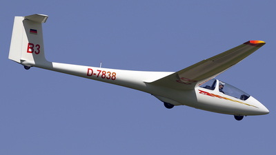 A picture of D7838 - Alexander Schleicher ASK21 - [] - © Jeroen Stroes