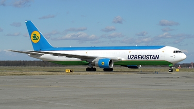 UK67002 - Boeing 767-33P(ER)(BCF) - Uzbekistan Airways