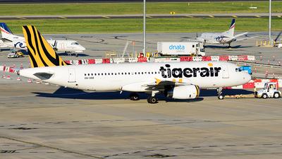 VH-VNR - Airbus A320-232 - Tigerair