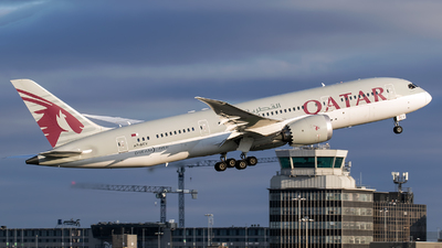 A picture of A7BCV - Boeing 7878 Dreamliner - Qatar Airways - © Charles Cunliffe