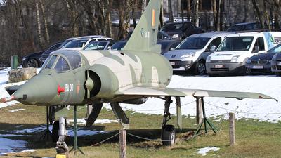BA-30 - Dassault Mirage 5BA - Belgium - Air Force