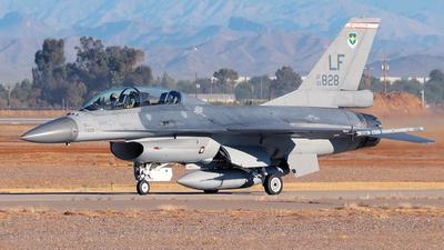 93-0828 - General Dynamics F-16B Fighting Falcon - United States - US Air Force (USAF)