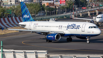 N521JB - Airbus A320-232 - jetBlue Airways