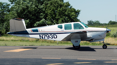 N793D - Beechcraft 35 Bonanza - Private