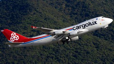 LX-RCV - Boeing 747-4R7F(SCD) - Cargolux Italia Airlines