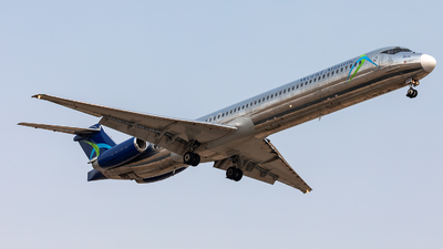 A picture of N801WA - McDonnell Douglas MD83 - World Atlantic Airlines - © CJMoeser