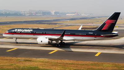N757AF - Boeing 757-2J4 - Private
