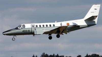 TR.20-01 - Cessna 560 Citation V - Spain - Air Force