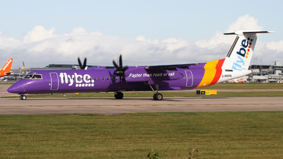 A picture of GPRPH - De Havilland Canada Dash 8400 - Flybe - © Rafal Pruszkowski