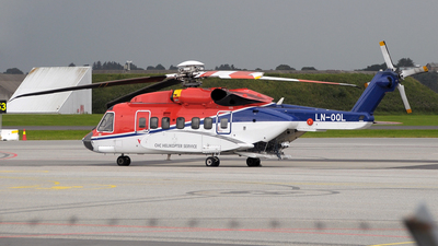 LN-OQL - Sikorsky S-92A Helibus - CHC Helikopter Service