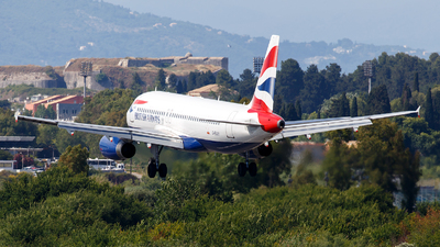 G-EUUY - Airbus A320-232 - British Airways