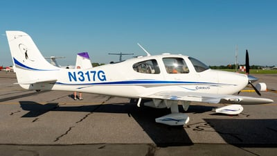 N317G - Cirrus SR22 - Private
