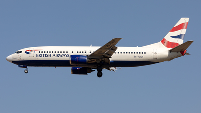 ZS-OAR - Boeing 737-476 - British Airways (Comair)