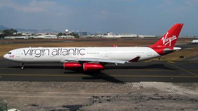 G-VELD - Airbus A340-313X - Virgin Atlantic Airways