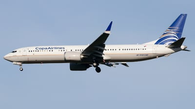 HP-9909CMP - Boeing 737-9 MAX - Copa Airlines