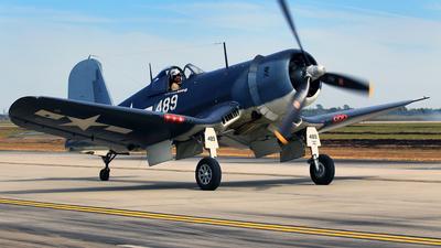 NX209TW - Goodyear FG-1D Corsair - Private