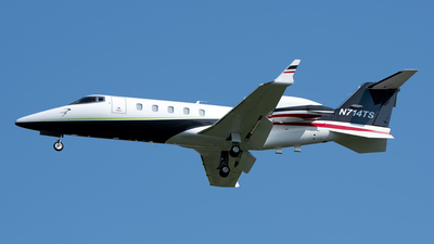 N714TS - Bombardier Learjet 60 - Private