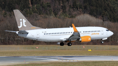 OY-JTE - Boeing 737-3L9 - Jettime