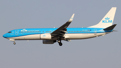 A picture of PHBXA - Boeing 7378K2 - KLM - © Alberto Cucini