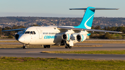 VH-NJY - British Aerospace Avro RJ100 - Cobham Aviation Services Australia