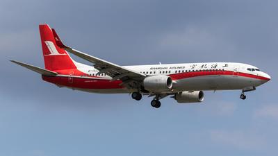 B-1512 - Boeing 737-89P - Shanghai Airlines