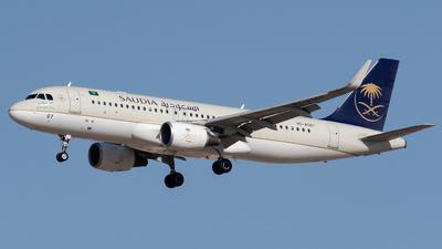 HZ-AS67 - Airbus A320-214 - Saudi Arabian Airlines