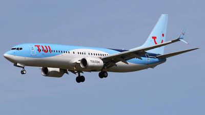A picture of GTAWI - Boeing 7378K5 - TUI fly - © Nigel Fenwick