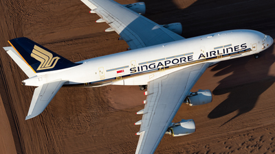 A picture of 9VSKK - Airbus A380841 - Singapore Airlines - © Mitch Coad