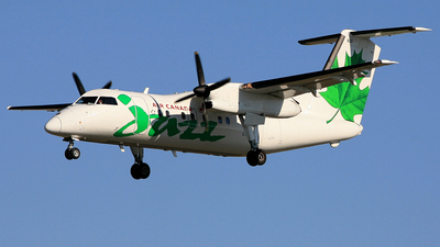 C-FGRP - Bombardier Dash 8-102 - Air Canada Jazz