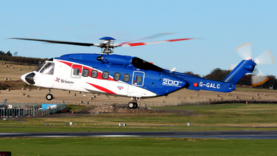 G-GALC - Sikorsky S-92A Helibus - Bristow Helicopters