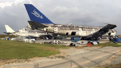 5U-ACF - Boeing 747-146B - Logistic Air