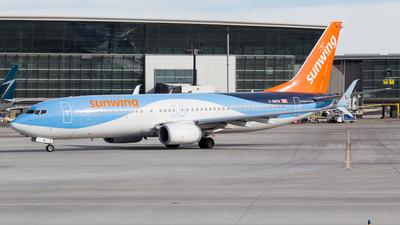 A picture of CGWVB - Boeing 7378K5 - [37242] - © Alex Praglowski