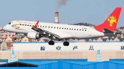 B-3186 - Embraer 190-100LR - Tianjin Airlines