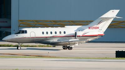 N1310H - British Aerospace BAe 125-800A - Private