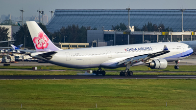 A picture of B18317 - Airbus A330302 - China Airlines - © Oscar Ho