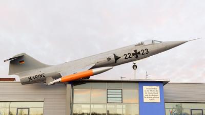 23-24 - Lockheed F-104G Starfighter - Germany - Navy