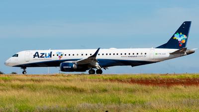A picture of PRAXI - Embraer E195AR - Azul Linhas Aereas - © CACSPOTTER