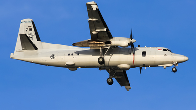 715 - Fokker 50 - Singapore - Air Force