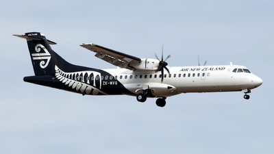 ZK-MVQ - ATR 72-212A(600) - Air New Zealand