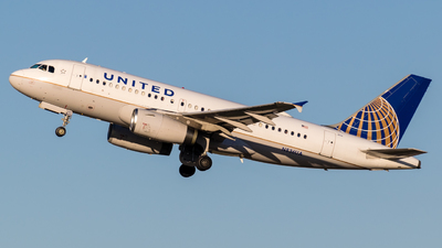 N836UA - Airbus A319-131 - United Airlines