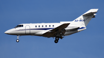 A2-MCB - Hawker Beechcraft 800XP - Private