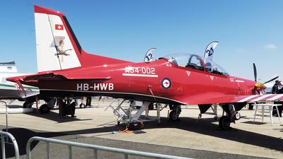 HB-HWB - Pilatus PC-21 - Pilatus Aircraft