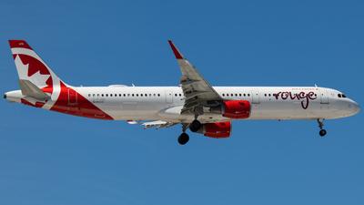C-FJQD - Airbus A321-211 - Air Canada Rouge