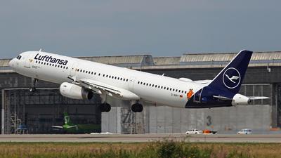 D-AIRY - Airbus A321-131 - Lufthansa - Flightradar24